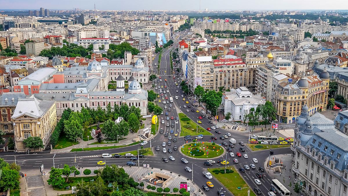 bucharest universitatii square shutterstock